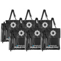 Westcott HP-WB6 Hurley Pro H2PRO Weight Bags 6 Pack Water Fillable
