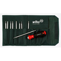 Wiha 28199 Drive-Loc VI Interchangeable Blade Set In Durable Pouch