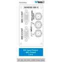 Wohler 829024 16 Channel 3G/HD/SD-SDI Dual Input Audio/Video Module