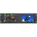 Wohler MPEG-3270 Dual 7 Inch LCD Video Monitor - MPEG TS Monitoring & Analysis