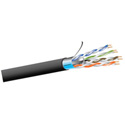 West Penn 254245F Plenum Cat5e Cable - 1000 Foot Roll Gray