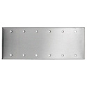 Stainless Steel 6-Gang Wallplate