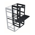 Middle Atlantic WS4-M31-24 4-Bay MRK Laminate Rackmount Writing Shelf