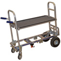 Wesco 220126 Spartan Junior Video Production Convertible Shelf Cart