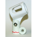 Wind Tech MC-2 White Microphone Clip
