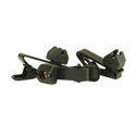 WindTech TC-9 Lavalier/Lapel Mic Soft Mount Tie Clip 3 Pack Black