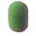 WindTech 1100 Series 1100-22 Small Size Foam Ball Windscreen 1/4 inch Neon Green