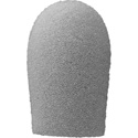 WindTech 1300 Series 1300-01 Medium Size Foam Windscreen 5/8in Teardrop Grey
