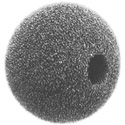 WindTech 1500 Series 1500-12 Small Size Foam Ball Windscreen 3/8in Black