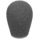 WindTech 2100 Series 2100-01 Small Size Windscreen 1/4in TearDrop - Grey