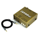Whirlwind ISOPODCI TRRS Professional Audio Interface for the Headset Jack of Your Mobile Device