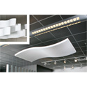Sonex WWC-8 Whisper Wave Clouds - 48 x 96 Acoustical Foam Natural Grey - Per Sheet