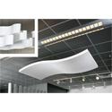 Sonex WWC-8 Whisper Wave Clouds - 48 x 96 Acoustical Foam Natural White -Per Sheet