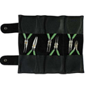 Xcelite C1KN 6-Piece Electronics Pliers Tool Kit with Pouch