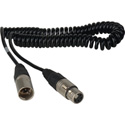Connectronics Power Cable XLR 4-Pin Male to Female Sony KD Equivalent 3Ft Coiled