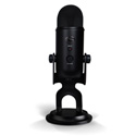 Blue Yeti Black Out All-in-One Professional Recording System with Black Out USB Mic
