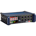 Zoom F8 Multi-Track ENG & Film Audio Field Recorder with Timecode - 8 Input/10 Track - 24-bit/192kHz