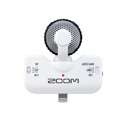 Zoom iQ5W Stereo Microphone with Apple Lightning Connector for iOS Recording - W