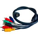 ZeeVee Zv709-6 Hydra Component/Composite & Digital Audio Breakout Cable - 6 Foot