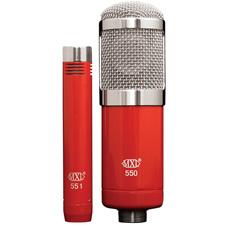 Photo of  MXL 550/551R Recording Ensemble Studio Microphones
