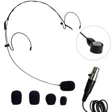 Photo of  Nady HM-20U HeadMic Unidirectional Condenser Headworn Microphone with XLR Adapter