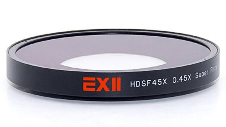 16x9 169-HDSF45X-62 EXII 0.45X Super Fisheye 62mm Thread Mount
