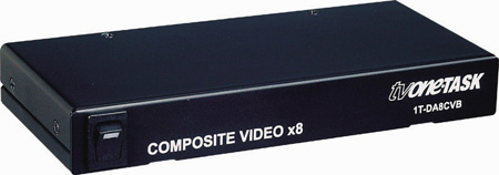 TV One 1T-DA8CVB 1x8 Composite Video DA w/BNC