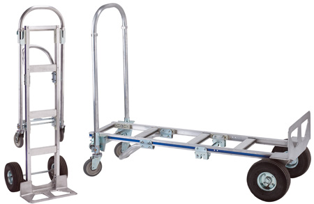 Wesco 220292 Cobra Senior Convertible Production Cart & Hand Truck