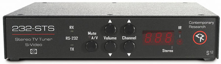 Contemporary Research 232-STS S-Video Stereo TV Tuner