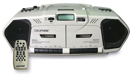 Califone Music Maker Plus Boombox
