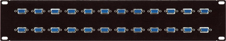 24 Point RS-422 Patch-Bay  Female