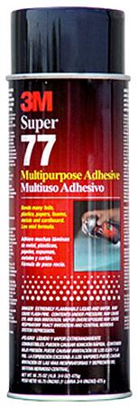 3M Super 77 Multipurpose Spray Adhesive 24 Fl. oz (16oz net)