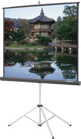 Da-Lite 74274 Picture King 72 Inch Tripod Screen Video Spectra