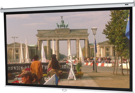 Da-Lite 40180 Model B 50x50 Matte White Projection Screen