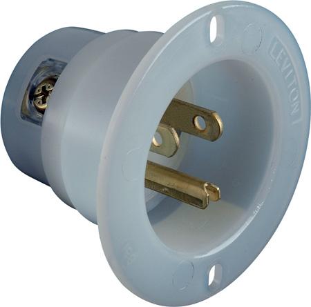 15 Amp 125 Volt Male Inlet Receptcle
