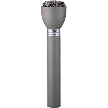 Electro-Voice 635A/B Classic Dynamic Omni Handheld Interview & ENG Mic - Black