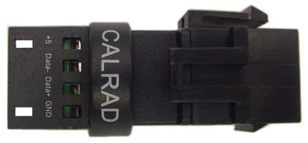 Solderless USB Type A Over Cat5e or Cat6 Keystone