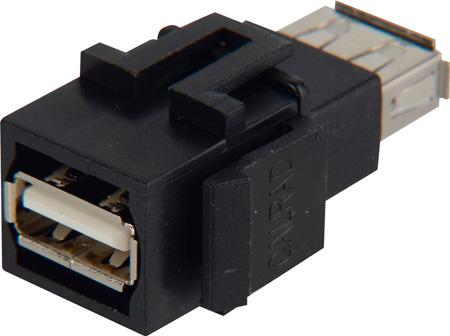 Calrad 72-125K USB Type A Feedthru