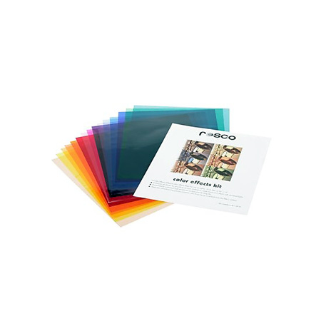 Rosco 09040 SKIT 12 x 12 Color Effects Kit 110124120001