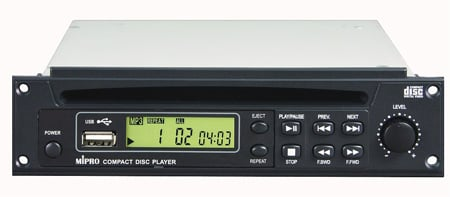 MIPRO 8CD0023 Optional CD Player for MA-705PA