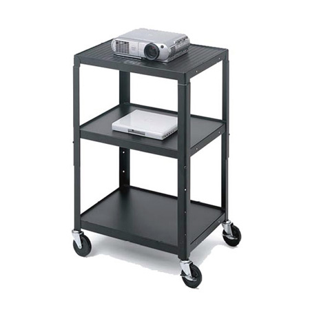 Bretford Adjustable Cart with 4 in. Casters and Electric