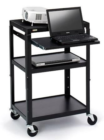 Bretford A2642NS Adjustable Multimedia Cart