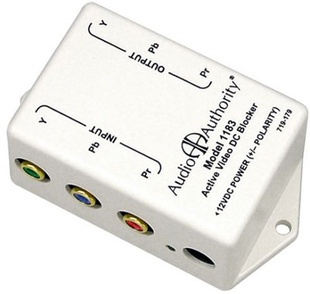 Audio Authority 1183 Active Video DC Blocker