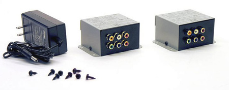 Audio Authority AVP-11 UniDrive 1:1 Active Dual Cat 5 Extender System