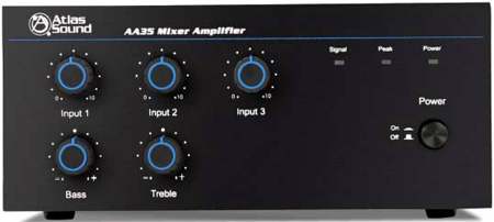 Atlas AA35 35 Watt Three Input Mixer Amplifier