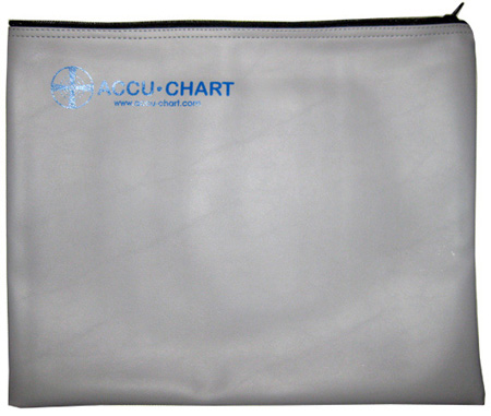 Accu-Chart ZVC Zippered Vinyl Case 12 x 15 Inch for 4:3 Charts