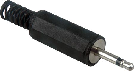 2.5 Sub-Mini Plug Cable End