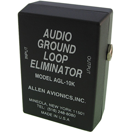 Allen Avionics AGL-10K Audio Ground Loop Isolation Transformer