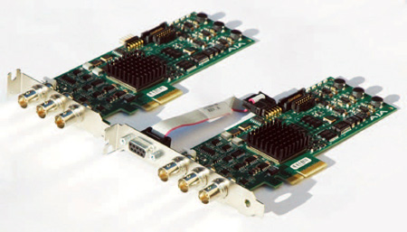AJA Corvid PCIe 4x Card for 8/10-bit Uncompressed Digital SD/HD I/O