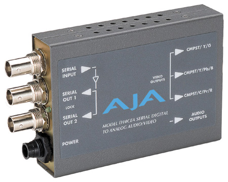 AJA D10CEA SDI Video & Audio D/A Transcoder